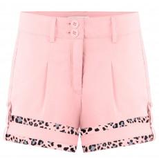 Girls shorts angel pink/leopard angel pink