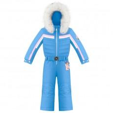 Girls overall multico polar blue