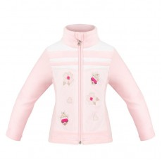 Girls fleece jacket multico pink